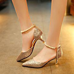 SO beautiful high heels ladies heels ladys heels for womens shoes heels girls shoes gold 39