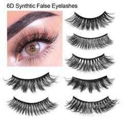 New 6D False Eyelashes Three-Dimensional Thick Waterproof False Eyelashes 25mm Eyebrow 6D-03