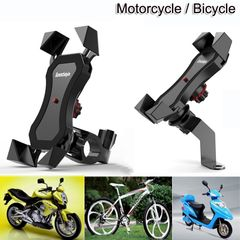 Rotatable Motorcycle Bike Phone Holder Mount For Smartphone 4.5-6.5 Motorcycle & Powersports black one size