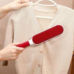 Household electrostatic Pet sheet hair remover clothing Household Cleaning Tools & Accessories red one size