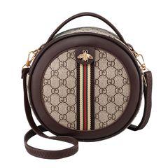 women bags 2021 new GD printed sling bags handbags Shoulder Bag ladies bags handbags for ladies coffee brown