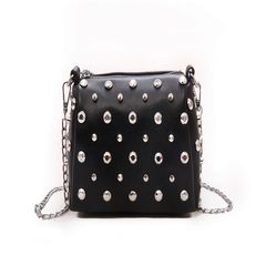 1-5 days to arrive, new foreign net red girl bag, soft leather hand-held messenger bag chain, small black