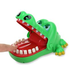 Crocodile Teeth Toys Game for Kids Adults Biting Finger Dentist Games Funny Christmas Gift Birthday As Picture