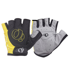 2021 High quality Moto Racing Silicone Gloves Bicycle Motorbike Riding Glove Motorcycle Men's Half Yellow XL