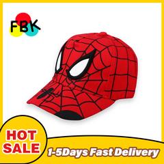 2020 Black Friday Anime Spiderman Cartoon Embroidery Cotton Children's Baseball Caps