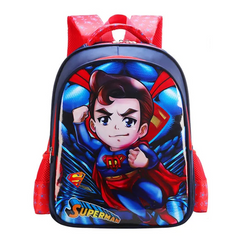 2021 New Year gift Kids Kindergarten Children School Bags Cool Pattern Child Bookbags Backpacks Superman