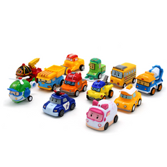 2021 New Year gift Kids Toys Station Car Toys Metal Model Toy Car Toy Play Vehicles