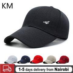 Cotton Ladies Men's Hats Visor Light Color Solid Color Baseball Cap Men's Hat Outdoor Adjustable black adjustable