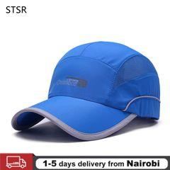 Fashion Quick Drying Summer Baseball Cap Men Bone  Breathable Women Snapback Sun Cap For Summer Hats Sky blue one size
