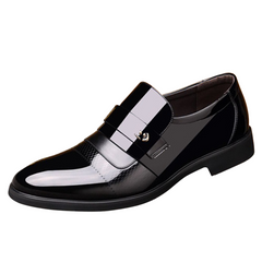 2020 Black Friday Hot saleClassic Dress Pointed Toe Shoes Men Leather Formal ShoesTop Quality Men Oxford Shoes