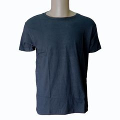 2020 High Quality Men T-shirts Casual Business T-shirt Short Sleeve Round Nect T-shirt black m Cotton/Polyester