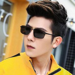 Men Fashion Sunglasses Classic Version drivers Sunglasses Metal Sun glasses Men Fashion Accessories black adult