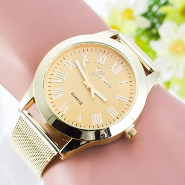 Connect Me quartz watch GOLD 1.5 inch