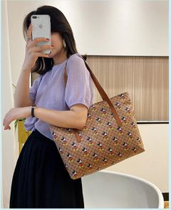 Bags Clutch Bags Women's Bags Female Bag Mickey Shoulder Bag Large Capacity Portable Water Bag Khaki