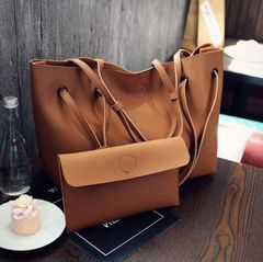 Women's Bags Fashion Women's Bags Mother-and-child Bags Casual Handbags Large Bags Shoulder Bags Brown