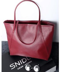 Bags & Fashion Ladies Bags Handbags Fashion Big Bags Toothpick Pattern Shoulder Bags Casual Handbags Red