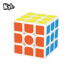 Three-order Rubik's Cube Game Learn Decompress Adult Kids Toy Gifts as picture One size