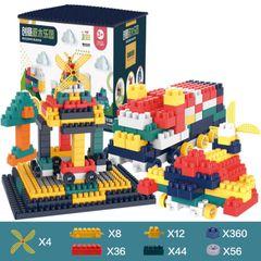 520PCS Building Blocks,Boys & Girls Best Kids Toy, Creative Games & Fun Activity As picture 520Pcs