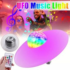 Valentine Gifts Remote Color LED Light Bluetooth Speaker In Bathroom Kitchen Party Lights Bargains Colors one size 30W