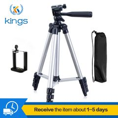 1.1M Phone Digital Camera Tripod Stands Phone Stable Selfie Accessories Parts Familiy Travel&Party silver One size