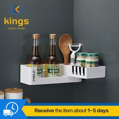 Multifunctional folding Soap Dishes For Bathroom With Drainage Kitchen Spice Racks Free Standing Black