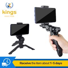 Selfie Sticks Mobile Phone Tripod Stands For Phone Spin Desktop Stand Stabilizer Accessories & Parts Black one size