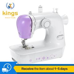 Bargains Sewing Machine 12-needle Two-speed Two-thread Multi-function Ironing & Pressing WHITE