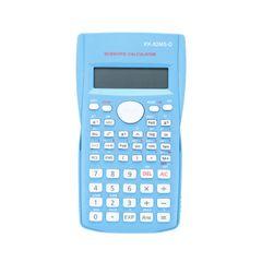 Portable Scientific Calculator Stationery School Office Multifunction Stationery Scientific Tool Blue
