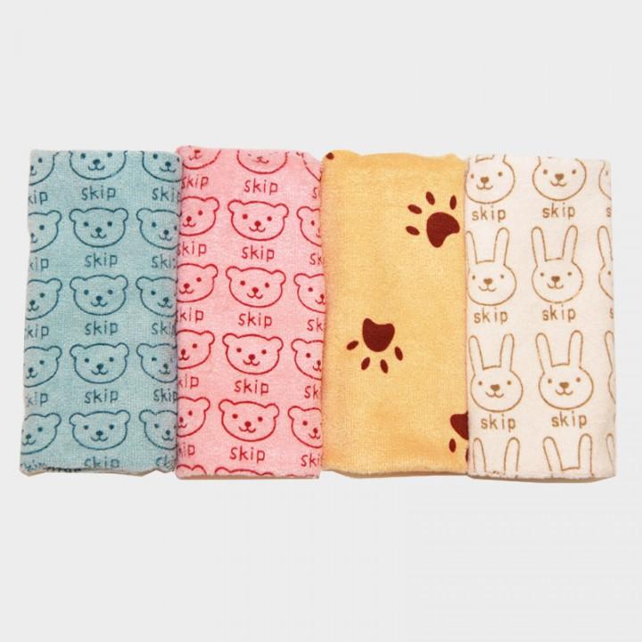 25*50cm Microfiber children cartoon Towel Wash Towels For kid cotton child Wash Towels quick dry towel