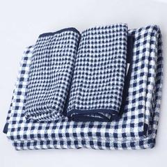 3 PCS/Lot Bamboo Fiber Quick-Dry Antibacterial 2 Hand Towel+1 Bath Towel house gife set