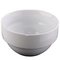 Slightly Damaged Dinner Bowls 1 Piece white 13cm