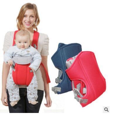 Baby Backpack Carrier, Multifunctional baby sling/bag Orange one size