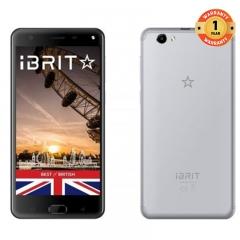 (+Free Cover) iBRIT i7 - 5.5'' - 32GB - 3GB, Fingerprint , 8MP Camera - 4G Dual SIM - 4000mAh grey