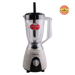Binatone  BLG-402(MK2) Blender With Grinder 1.5 Litres. 60 year old British brand with 2yr  Warranty Warm Grey