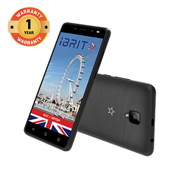 iBRIT i2 Smart phone - 5.0'' - 2GB - 16GB - 8MP Camera - Dual SIM - 3G + Free Backpack black