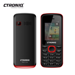 CTRONIQ Force F1, 32MB RAM+ 32MB ROM, Dual SIM, Bluetooth enabled black