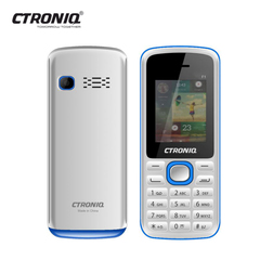 CTRONIQ Force F1, 32MB RAM+ 32MB ROM, Dual SIM, Bluetooth enabled white