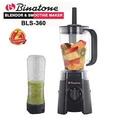 Binatone BLS-360 Blender & Smoothie Maker 1.25 Liters with 2yr Warranty black