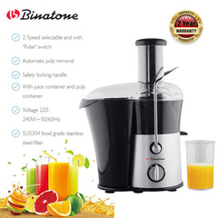 Binatone JE580 Juice Extractor Top Class World Brand with 2yr Warranty black