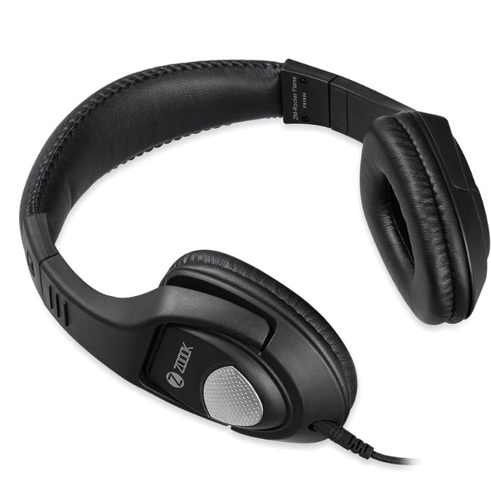 Zoook Rocker Flame Headphone 3.5mm Jack For Phone Tablets PC Laptop black