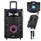 ZOOOK ZB-Beat Box Pro - Portable Trolley Speaker - DJ Mixer Pad & Light Effects black 10000w zoook