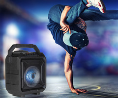 ZOOOK ZB-Rocker Thunder XL -Portable Bluetooth Trolley Speaker With Karaoke Mic black 50W zoook