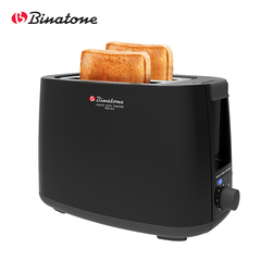 BInatone POP-212 2 Slices Bread Sandwich Auto Pop Up Toaster Black