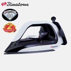 Binatone DI-1255 MK2 Dry Iron Box Non-Stick Sole Plate 1100-1300W Black & White