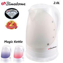 Binatone Electric Magic Kettle CEJ-2030 2 Litres White