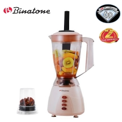 Binatone BLG-450P 1.5L Blender Juicers with Grinder Peach