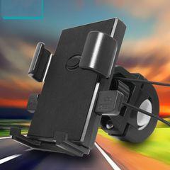Bike Phone Holder, Adjustable Bike Phone Mount Bicycle Motorcycle Phone Holder Mount Black one size fit for 4.7-7.0 inch phones