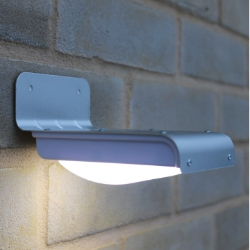 16 LED Solar Powered PIR Motion Sensor Garden Security Light Wall Lamp Outdoor as picture one size