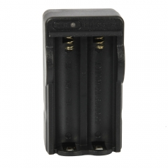 Travel Wall Battery Charger for 18650 Rechargeable Li-ion Battery EU Standard black one size no
