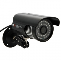 1000TVL HD Outdoor Waterproof IR-CUT Night Vision Home CCTV Security Camera PAL black one size